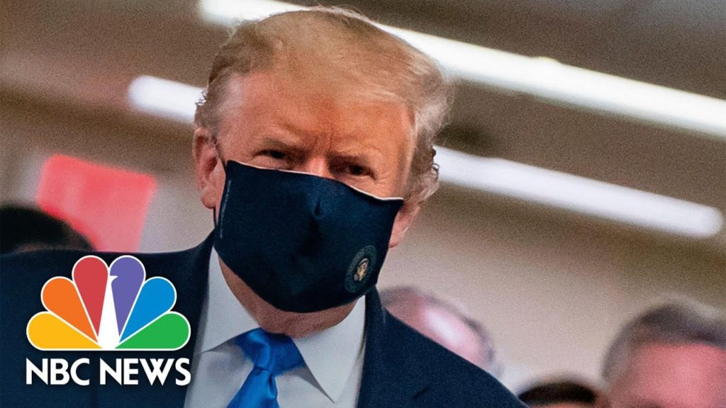 Watch Trump Wears Face Mask During Visit To Walter Reed Hospital NBC News 1024x576 - Images by News