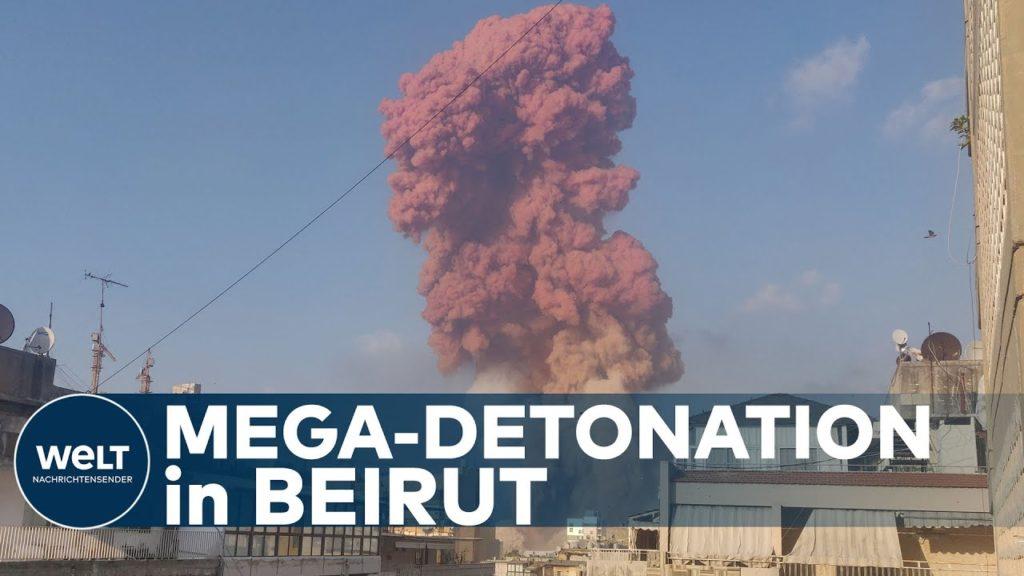 HORROR EXPLOSION IN BEIRUT Dutzende Tote und 2700 Verletzte nach gewaltiger Detonation im Hafen 1024x576 - Images by News