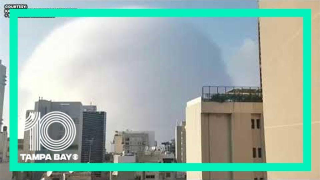 Huge explosion rocks Beirut Lebanon 1024x576 - Images by News