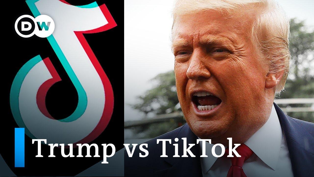 Trump-says-he39ll-ban-China39s-TikTok-video-app-in-US-DW-News