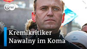 Kremlkritiker-Alexej-Nawalny-nach-mutmaslicher-Vergiftung-im-Koma-DW-News
