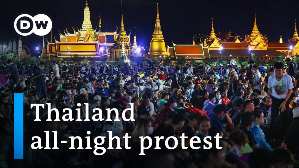 Thailand Anti government protest in Bangkok draws massive crowd DW News 1024x576 - Images by News