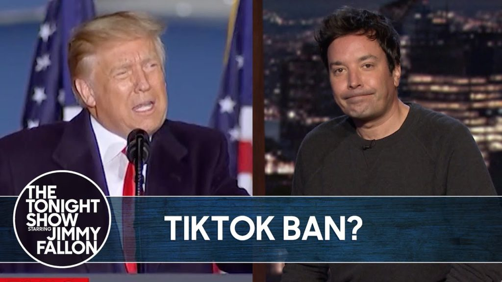 Trump Officially Bans TikTok The Tonight Show 1024x576 - Images by News