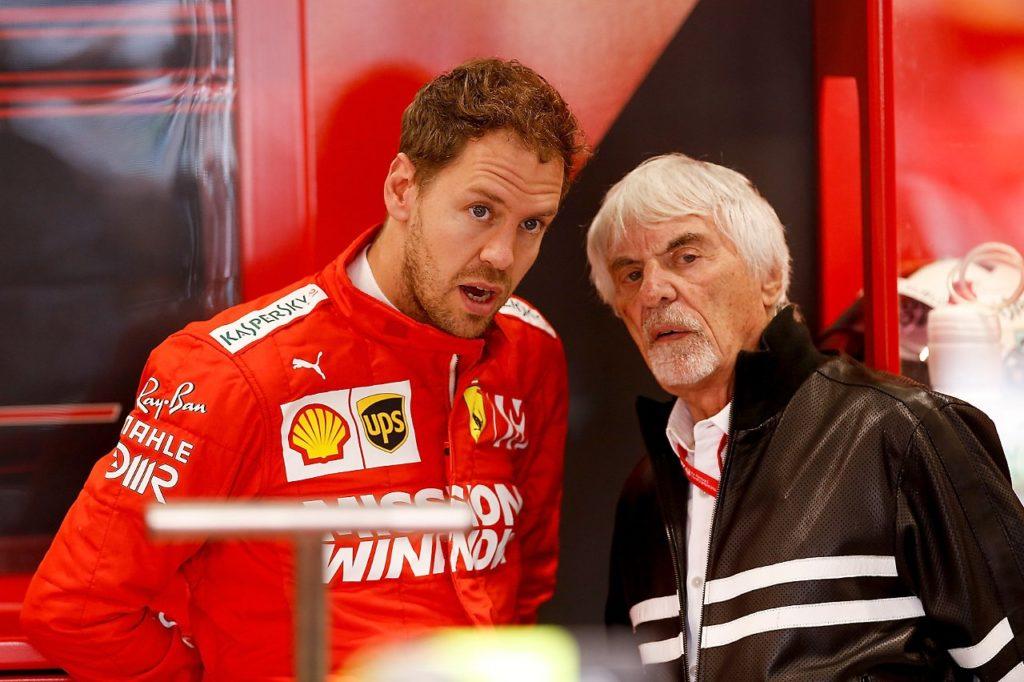 Bernie Ecclestone Vettel