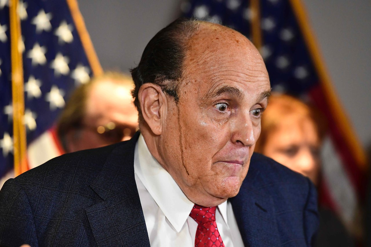 Rudy Giuliani - Trump lawyer perishes - Giuliani disturbed with wild tirades - today