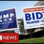 Trump-and-Biden-in-final-scramble-for-votes-before-election-day-BBC-News
