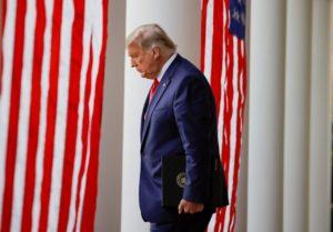 Trump goes