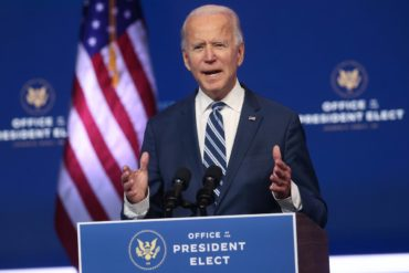 Biden says