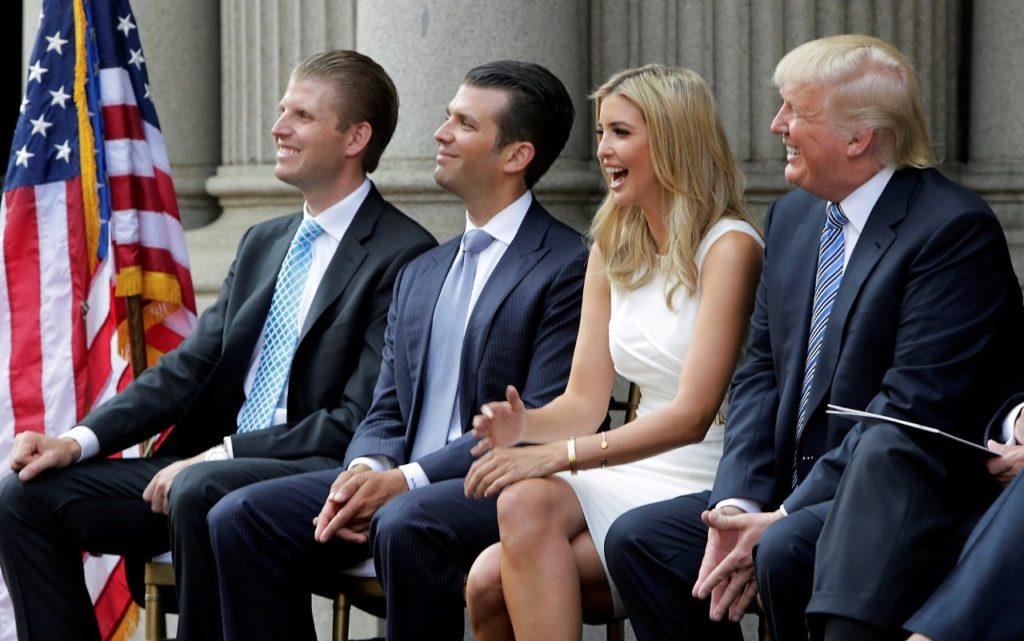 Eric Donald Jr Ivanka Donald Trump 1024x641 - Images by News